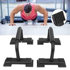 Push Up Bars Parallettes 2 Pieces Steel Pair Pushup Gym Home Exercise Workout