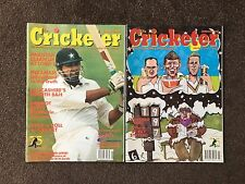 The Cricketer Magazine - 2 Issues - Rare - VGC