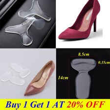 Silicone Shoe High Heel Insole Cushion Safe Pad Gel Grips Foot Heal Protector UK