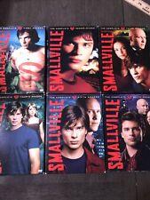 Smallville Series Dvd Tv Seasons 1-6 Lot. Great Condition 6 Seasons Total