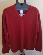 LA MARTINA Saddlery Lambswool Sweater LARGE Italiano Mens Vintage Polo Fall