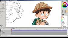Pencil2D (2D Animation and Drawing Software) for Windows and Mac