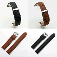 Di Modell Anfibio Polo Impermeable Correa de reloj: Negro o Marrón: 18 - 24mm (AD2)