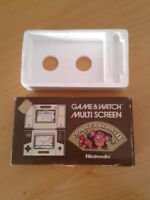 NINTENDO GAME&WATCH MULTISCREEN DONKEY KONG JR-55 CAJA COMPLETA BOX+FOAM VER