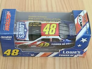 2003 #48 Jimmie Johnson Lowe's Power of Pride RCCA 1/64 Action NASCAR Diecast