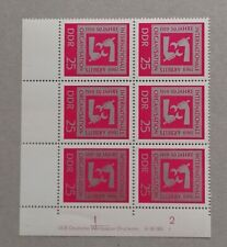 📯 DDR MiNr. 1518 DV - Randstück mit Druckvermerk - postfrisch 📯