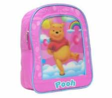 "Disney Winnie The Pooh Rainbow Preschool 11"" Backpack Kids Toddler Girls Bag New"