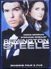 REMINGTON STEELE Seasons 4 & 5: Pierce Brosnan: English / en inglés: Zone 1 DVD