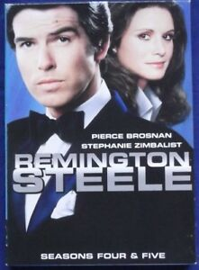 REMINGTON STEELE Seasons 4 & 5: English / inglés: Zone 1 DVD :Subtitulos Español