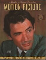 Motion Picture Magazine February 1946 Gregory Peck Sidney Skolsky 082820AME