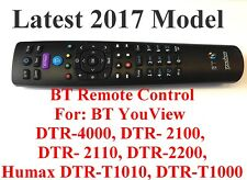 BT YouView Remote Control RC3124705/01B UK Seller