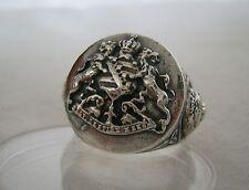 Sachsen Wappen Ring Silber 925