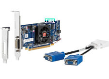 NEW AMD Radeon HD6350 Dual Monitors Support Video Graphics Card Dual VGA Long