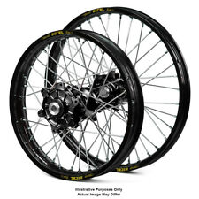 "17"" Front 17"" Rear Black Motard Wheels Fit Honda Africa Twin CRF1000-L 2018"