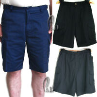Casual Cargo Work Pants Cotton Drill Workwear Short AU SELLER wo004
