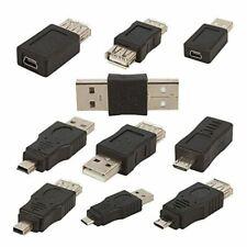 10 Stuecke Otg 5 Pin F / M Mini Wechsler Adapter Konverter Usb Stecker Auf Q5Y5