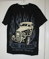 KING KEROSIN T-SHIRT MENS HOTROD WEAR  SIZE M   NEW