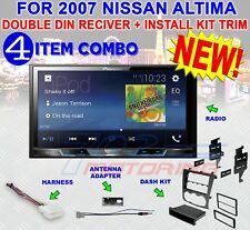 FOR 2007-2012 ALTIMA PIONEER TOUCHSCREEN BT BLUETOOTH USB AUX CAR STEREO RADIO