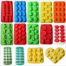 Multi-форма лоток для льда пресс-формы для изготовления силикон/резина шоколадный пудинг пресс-форма