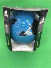 Adidas Soccer Glider Size 4 Football Team Top Blue #3367