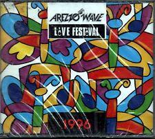 ARTISTI VARI AREZZO WAVE LIVE FESTIVAL 1996 CD DOPPIO SEALED