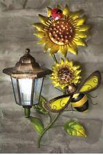 SMART Solar Color Fucsia PALETTO LUCE Decorazione Giardino Decorazione Fiore Color Fucsia