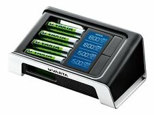 VARTA LCD smart Charger Inkl. 4x AA 2100 mAh USB