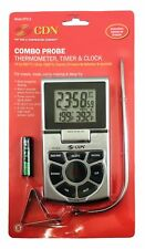 CDN Combo Probe Thermometer, Timer, and Clock - Model: DTTC-S