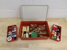 Set Collection of Lace-Making Kit. Bobbins, Thread Etc. Hospiscare