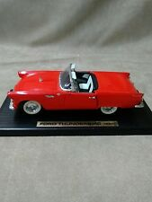 1955 Ford Thunderbird Red 1:18 Scale  18G JM pre-owned