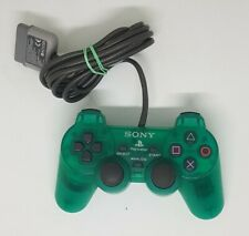 Official SONY Green PlayStation 1 Analogue Controller PSOne PS1 PS 1 SCPH-1200