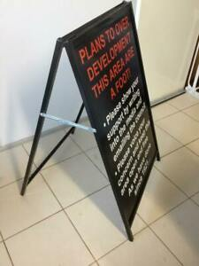 Corflute Insert Aframe Sign / Sandwich Board Doubled sided shop sign