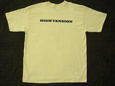 New HIGH TENSION 2003 Movie Promo Size XL Off White Cotton t-shirt C. De France