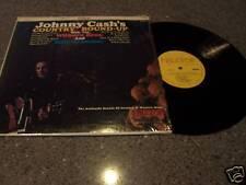Johnny Cash Country Round-Up LP w/Wilburn Bros Grammer