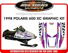 1998 POLARIS INDY XC 600 HOOD DECALS, SHROUD  700 440