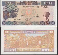 Guinea 100 Franc 2012 P35 Mint Unc