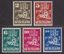 Nederland Netherlands 1950   556-560 Kerken  in oorlogstijd postfris/mnh