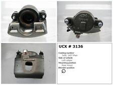 Undercar Express 10-3136S Frt Left Rebuilt Brake Caliper With Hardware