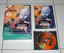 Gioco Pc Cd CASPER Brainy Book – OTTIMO 1995 ITA Libro interattivo Big Box
