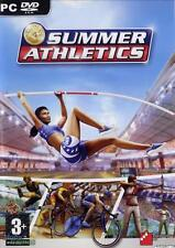 Summer Athletics (PC DVD Game) NEW & Factory Sealed Olympics Ultimate Challenge