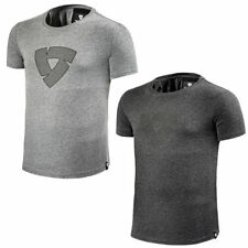 Cotton Patternless Motorcycle T-Shirts for Men