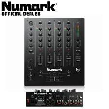 More details for numark m6 usb black desktop 4-channel club dj scratch mixer with usb