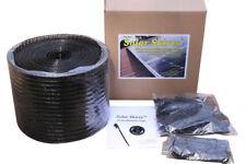 SOLAR SKIRT SOLAR PANEL BIRD MESH KIT 30 Metres BLACK - Stops Damage & Nesting