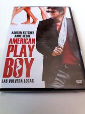 "DVD ""AMERICAN PLAYBOY"" COMO NUEVO DAVID MACKENZIE ASHTON KUTCHER ANNE HECHE"