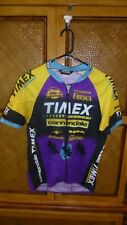 Vtg. CANNONDALE TIMEX Cycling Womens Jersey Sz. Medium - Shimano Continental