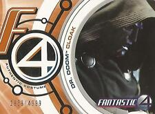 "Fantastic Four Movie - DD003 Black ""Dr Doom Cloak"" Costume Card #1939/4999"