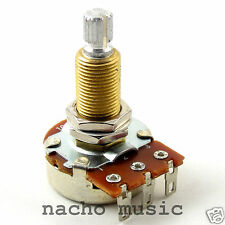 Bourns 500K Long Shaft Low Friction Audio Taper Potentiometer Pot