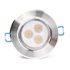 New 9W LED Recessed Ceiling Down Light Bulb Lamp Downlight Warm/cool white