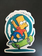 Springfield Bart Simpson TV Series Skateboard Fun Sticker Urban Stickerbomb
