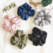 Fashion Lady Hair Scrunchies Ring Elastic Bobble Sports Dance Scrunchie Gift HG